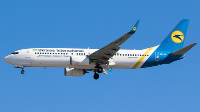 UR-UIC - Boeing 737-8KV - Ukraine International Airlines