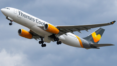 G-TCXD - Airbus A330-243 - Thomas Cook Airlines