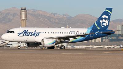 N523VA - Airbus A319-112 - Alaska Airlines