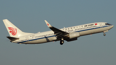 B-1417 - Boeing 737-89L - Air China