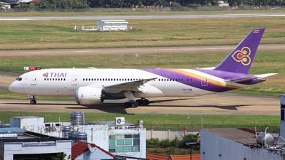 HS-TQB - Boeing 787-8 Dreamliner - Thai Airways International