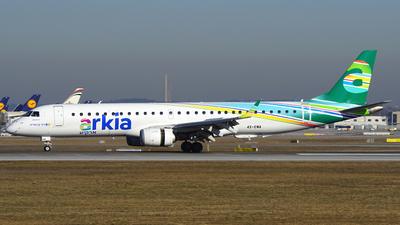4X-EMA - Embraer 190-200LR - Arkia Israeli Airlines