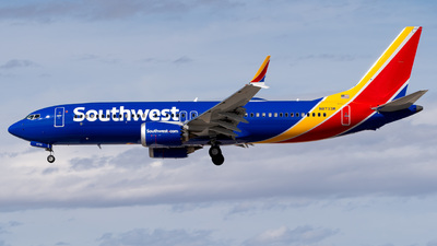 A picture of N8733M - Boeing 737 MAX 8 - Southwest Airlines - © Garey T. Martin