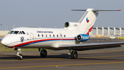 0260 - Yakovlev Yak-40 - Czech Republic - Air Force
