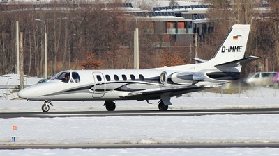 D-IMME - Cessna 551 Citation II(SP) - Private