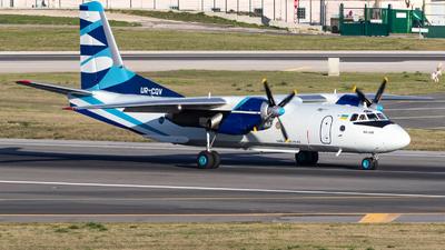 UR-CQV - Antonov An-26B - Vulkan Air