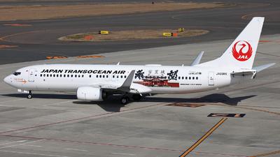 A picture of JA08RK - Boeing 7378Q3 - Japan Transocean Air - © Shotaro Shimizu