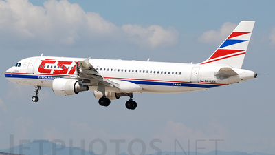 OK-LEE - Airbus A320-214 - CSA Czech Airlines