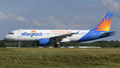 A picture of N229NV - Airbus A320214 - Allegiant Air - © DJ Reed - OPShots Photo Team