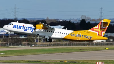 G-OGFC - ATR 72-212A(600) - Aurigny Air Services