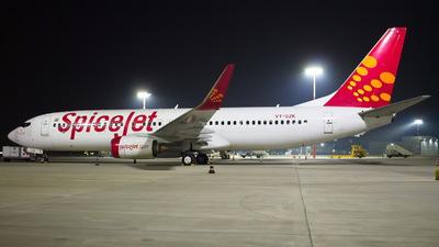 VT-SZK - Boeing 737-8GJ - SpiceJet