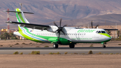 A picture of ECMJG - ATR 72600 - Binter Canarias - © Pablo Gonzalez de Leon