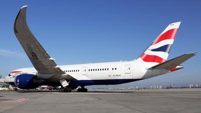 9435acc68108 G-ZBJH - Boeing 787-8 Dreamliner - British Airways - Flightradar24
