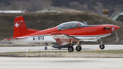 A-913 - Pilatus PC-7 - Switzerland - Air Force