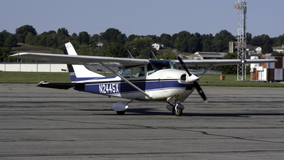 A picture of N2445X - Cessna 182H Skylane - [18256345] - © Connor Ochs