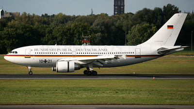 10-21 - Airbus A310-304 - Germany - Air Force
