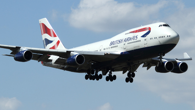 G-CIVN - Boeing 747-436 - British Airways