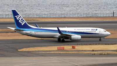 JA66AN - Boeing 737-881 - All Nippon Airways (ANA)