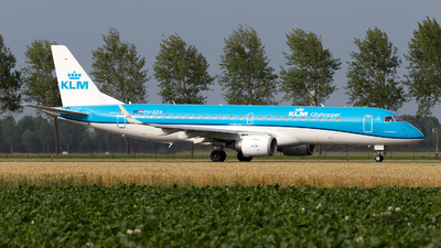 PH-EZN - Embraer 190-100STD - KLM Cityhopper