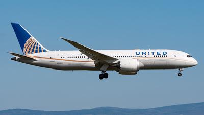 A picture of N26910 - Boeing 7878 Dreamliner - United Airlines - © Sebastian K