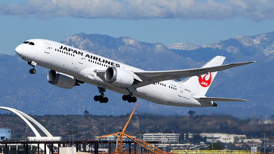 A picture of JA845J - Boeing 7878 Dreamliner - Japan Airlines - © Rocky Wang