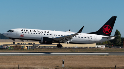 A picture of CFSNQ - Boeing 737 MAX 8 - Air Canada - © Brodie Meeres