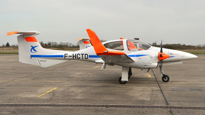 A picture of FHCTD - Diamond DA42 Twin Star - ENAC Ecole Aviation Civile - © bruno muthelet