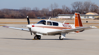 N201AD - Mooney M20J-201 - Private