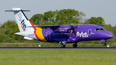 G-CCGS - Dornier Do-328-100 - Flybe (Loganair)