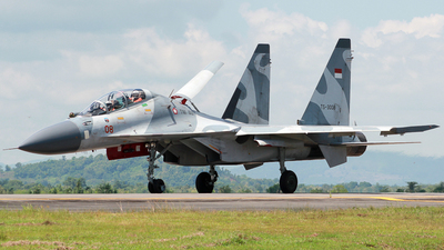 TS-3008 - Sukhoi Su-30MK2 - Indonesia - Air Force