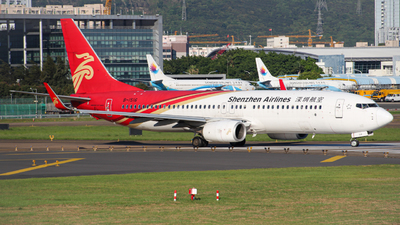 A picture of B1516 - Boeing 73787L - Shenzhen Airlines - © shyqf
