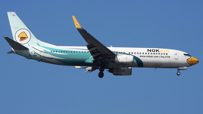 A picture of HSDBO - Boeing 7378AS - Nok Air - © toeychincha