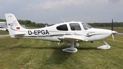 D-EPGA - Cirrus SR22-GTS - Private
