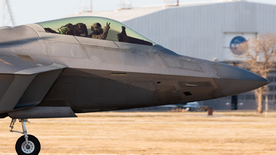 05-4100 - Lockheed Martin F-22A Raptor - United States - US Air Force (USAF)