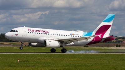 A picture of DAGWJ - Airbus A319132 - Eurowings - © Chr Pe