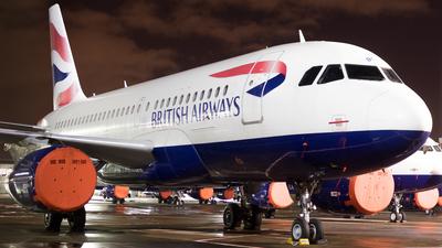 G-DBCA - Airbus A319-131 - British Airways