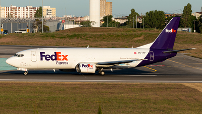 A picture of OEIAP - Boeing 7374M0(BDSF) - FedEx - © Aaron Vancoillie