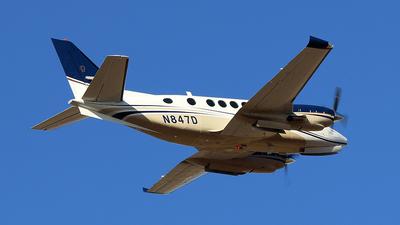 N847D - Beechcraft B100 King Air - Private
