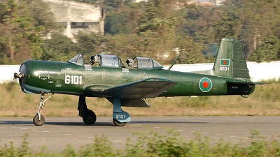 6101 - Nanchang PT-6A - Bangladesh - Air Force