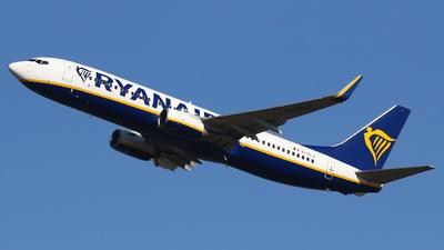 A picture of EIDLJ - Boeing 7378AS - Ryanair - © Nigel Fenwick