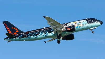 A picture of OOSNB - Airbus A320214 - Brussels Airlines - © Jarneds