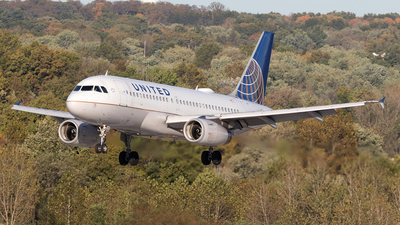 N837UA - Airbus A319-131 - United Airlines