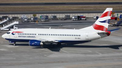 ZS-OKH - Boeing 737-376 - British Airways (Comair)