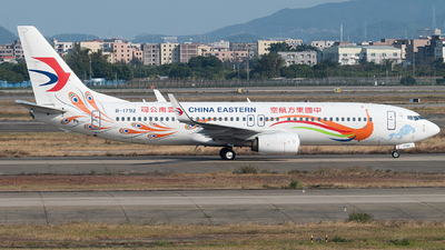 A picture of B1792 - Boeing 73789P - China Eastern Airlines - © LeoRay