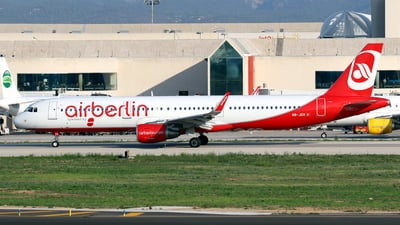 HB-JOV - Airbus A321-211 - Air Berlin (Belair Airlines)