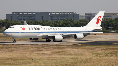 A picture of B2486 - Boeing 74789L - Air China - © Harley Guo