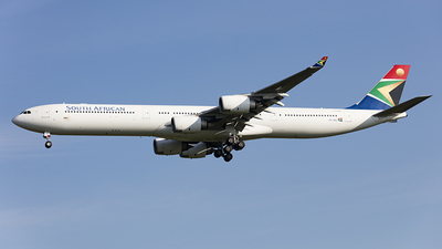 ZS-SNI - Airbus A340-642 - South African Airways