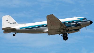 N200MF - Douglas DC-3C-TP - Private