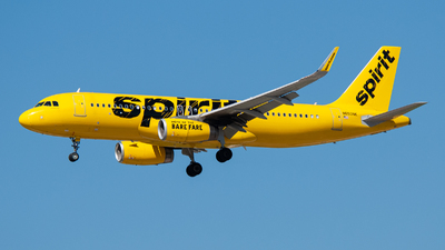 A picture of N650NK - Airbus A320232 - Spirit Airlines - © charly1684