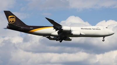 N620UP - Boeing 747-84AF - United Parcel Service (UPS)